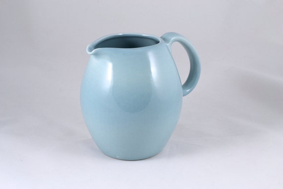 Russel wright iroquois casual 32 oz pitcher ice blue - Russel wright pitcher ...