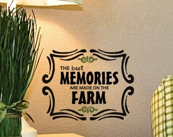 Farming Quotes Inspiration Faith Family Farm Vinyl Wall Decal Words Cornhole Board Decals