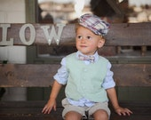 Boys Tie and Vest Combo for Ring Bearer or Special Occasion