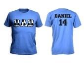 Soccer Dad Men Shirt - Front and Back Design
