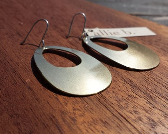 Teardrop, Earrings, Bronze, Sterling, Silver, Classic, Timeless, Goes with everything, Lightweight, High impact, Conservative, Fun, Design