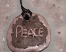 Peace New Age Hippie Wall Art Sentimental
