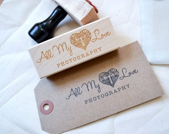 Custom Logo Stamp - Custom Stamp - Customized Stamp - Personalized - Shop Stamp