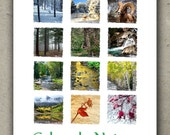 2014 Colorado Nature Desk Calendar -Landscape -Forest -River -Colorado Gift under 20 -Colorado Photography Calendar -FREE SHIPPING USA