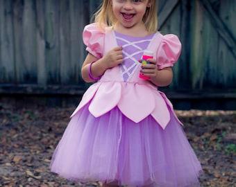 Custom Colors Flower Princess Tutu Dress Any Girls Size