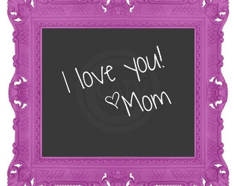Chalkboard decal for Picture Frame 4x6 5x7 8x10 11x14 self adhesive vinyl decal sticker