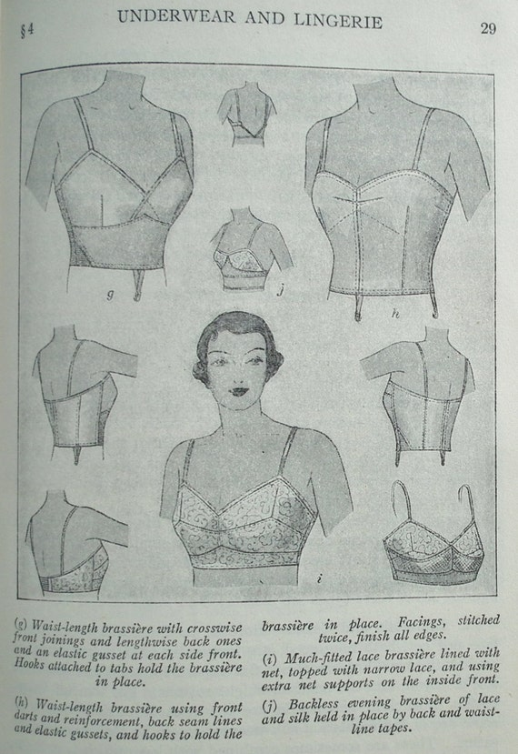 Flapper lingerie underwear making sewing hc book