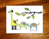 Best Friends 11x14 Print
