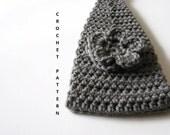 INSTANT DOWNLOAD Crochet Pattern - Crochet Headband Pattern - Flower Headband Crochet Pattern - Ear Warmer Pattern