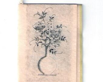 Vintage Tallies Hallmark/Hall Bros Parchment Bridge Tally Cards (8) Original Art Deco Unused and Charming
