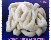 Dream Felt's Core Wool Roving 1 lb. for Needle Felting  Simply the BEST!