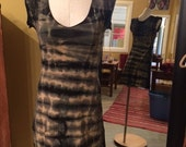 Shibori It! - Stretch Hemp and Organic Cotton Cap Sleeve Tie-dyed Dress