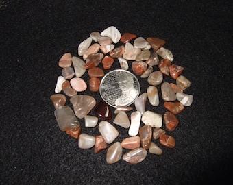Agate Tumbled and Polished Pinkish Newfoundland Natural Gemstones