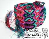 WOVEN BELT Mexican belt friendship bracelet style belt  wide colorful belt boho belt bohemian belt gift for her