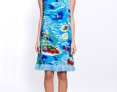 The Vintage Surfer Hawaii Tie Dress