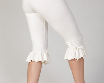 Put A Bow On It Bloomers Bamboo Jersey Knit :Made to Order in Six Colors Eco Friendly Organic Sz. Sm Med Lg XL