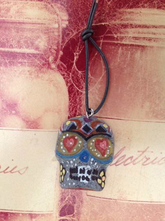 Dia de Los Muertos, Day of the Dead Skull Ornament
