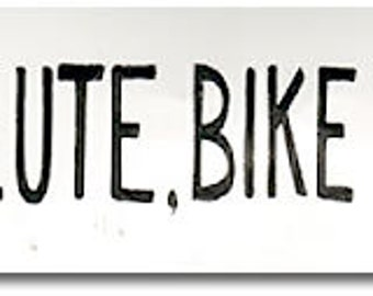 Don't Pollute Bike Commute - Sticker