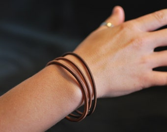 Bangle Bracelet Made From Piano String