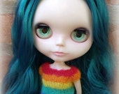 Blythe Rainbow t-shirt - short sleeved sweater