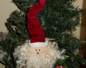 Santa Ornament Shelf Sitter