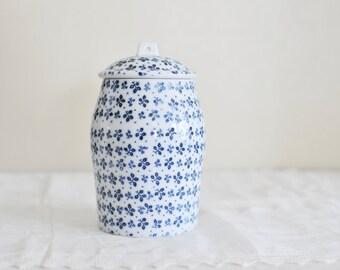 Estee Lauder Youth-Dew Bath Crystals Porcelain Lidded Jar / Estée Lauder / RARE / Ginger Jar