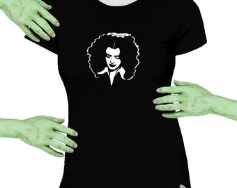 Voodoo Sugar Magenta Rocky Horror Picture Show Black Missy Fit t-shirt Plus Sizes Available