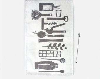 Bar Towel - 100% Organic Cotton