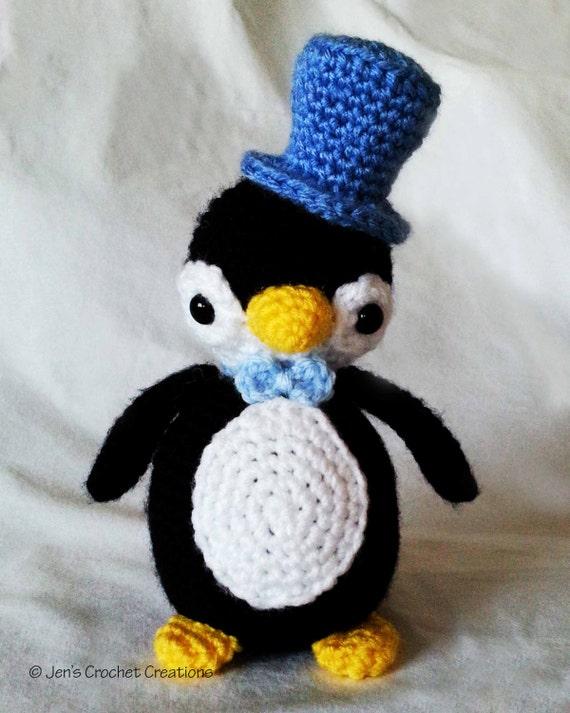 Crochet Holiday Penguin
