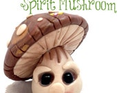 Polymer Clay Spirit MUSHROOM Tutorial - Also for Fondant, Sugar Paste, & More