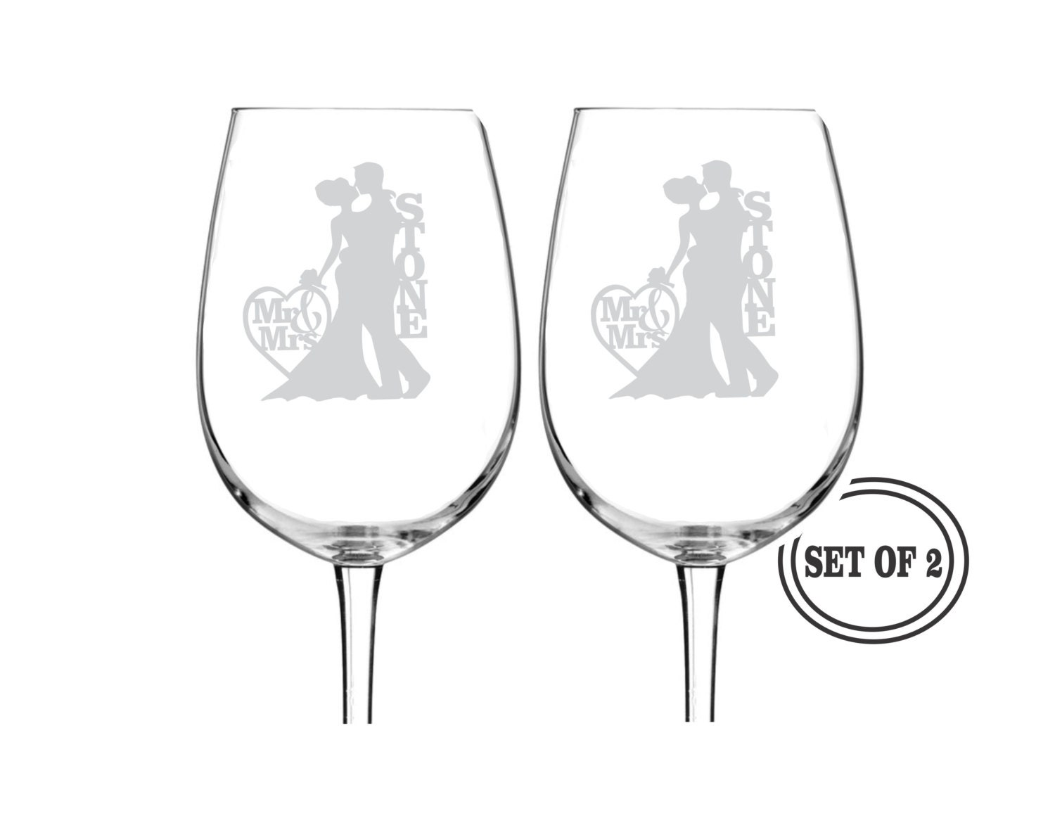 Engraved Wine Glasses For Wedding Gift : Chandeliers & Pendant Lights