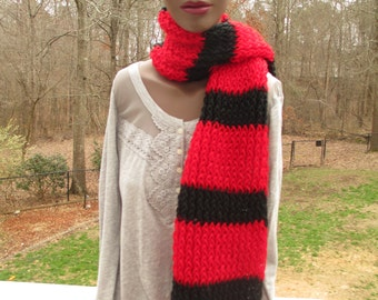 Georgia University colors, Free shipping, Georgia Bulldogs, georgia football, georgia scarf, georgia football scarf, georgia bulldogs scarf,