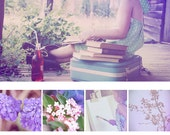 Photoshop Texture Overlays: Lavender Lush
