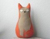 SALE -- ready to ship -- the Housecat // plush wool cat pillow