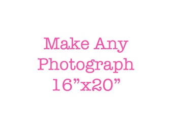 16x20 photograph 16x20 fine art print your choice customize your size 16x20 Fine Art Photograph