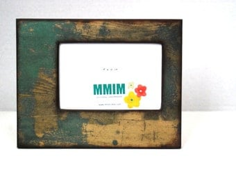 Distressed Wood 4 x 6 Picture Frame -  Picture Frame - Photo Frame