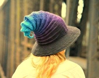 Halloween Witch Hat. Wizard Costume Hat. Fantasy Hat. Cosplay Hat. LARP.