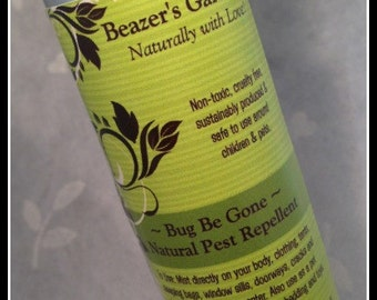 Natural Pest Repellent- Bug Be Gone- Organic Bug Spray- Summer Skincare- Home and Living- Everyday is Earthday!