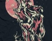 Women's Shark Wolf T Shirt
