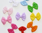 Little Girls Hair Bow Set Small Tiny Baby Bows Kids Hair Clip Hairbows (Set of 10) Choose Colors