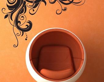 Vinyl Wall Decal Sticker Vine Design 1281m