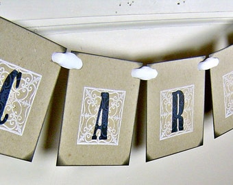 Wedding cards banner, vintage inspired black and white wedding cards sign, gifts garland, rustic wedding gifts sign, reception decor