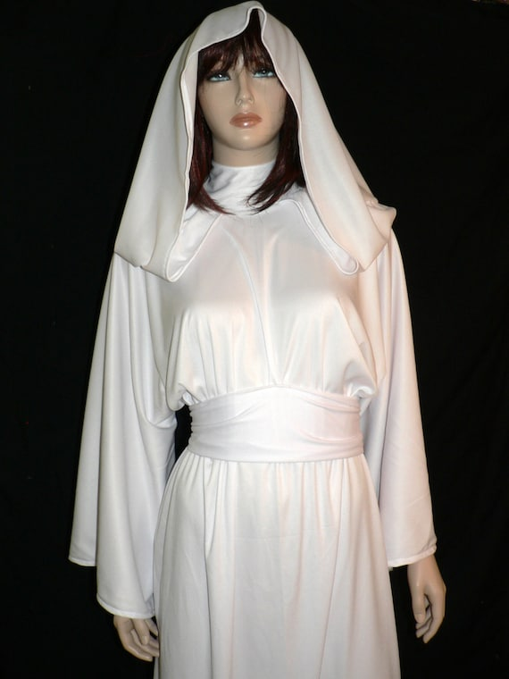 Star Wars Princess Leia White Gown ANH