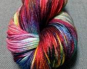 Aurora Borealis - superwash merino sock yarn