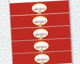 Butterfly Party PRINTABLES Drink Labels by Love The Day