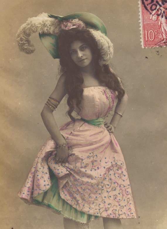 Pauline Polaire, Belle Epoque Chanteuse and Actress, circa 1905 by Nadar