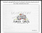 Custom logo design Premade photography Logo Design sketch camera logo doodle photography logo by princessmi 1233-3