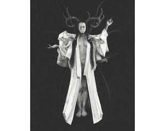 Limited Edition Fine Art Print: Pillars - Karen