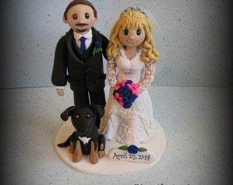 Black lab wedding