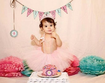 Birthday Tutu- Baby Tutu- Pink Tutu- Baby Tutu- Toddler Tutu- Infant Tutu- Tutu- Tutus- Available In size 0-24 months